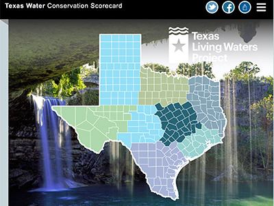 Texas Water Conservation Scorecard